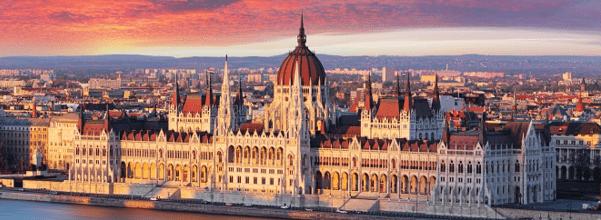 met de camper op vakantie naar Boedapest