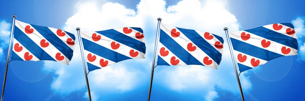 vlaggen Friese Elfsteden camperroute